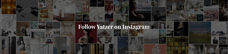 Follow Yatzer in Instagram