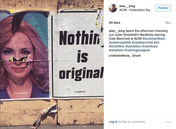Cate Blanchett poster