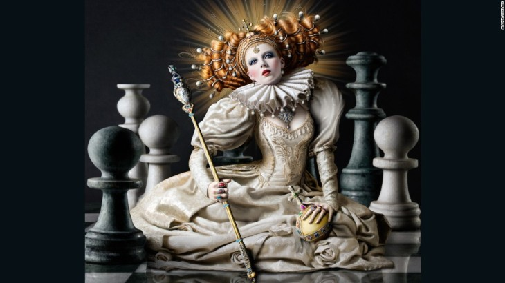 Elizabeth I, 2007 -- The Regal Twelve by Alexia Sinclair