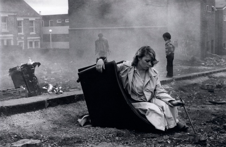 Youth Unemployment, Elswick, Newcastle upon Tyne, 1981