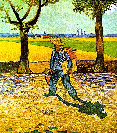 painter on the road to tarascon
