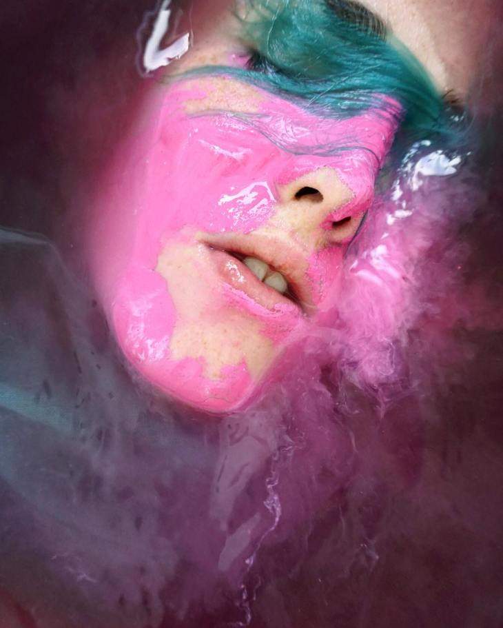 JuxtaposedClaire Luxton's vibrant works revolve around her self-portraits, celebrating the chiseled beauty of freckles sprinkled all over the contours of her face. [[MORE]]The artist photographs her portraits submerged in water, her prominent, sharp...